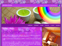 Frontpage screenshot for site: Aroma Duga (http://www.aromaduga.hr)