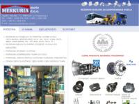 Slika naslovnice sjedišta: Merkuria moto d.o.o. (http://www.merkuria-moto.hr)