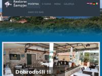 Frontpage screenshot for site: Restoran Maslinica Šampjer otok Šolta (http://www.restoran-maslinica-sampjer.hr)