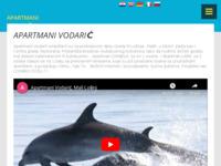 Frontpage screenshot for site: Apartmani Vodarić Mali Lošinj (http://apartmani-vodaric.hr)