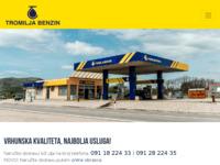 Slika naslovnice sjedišta: Tromilja Benz (http://tromilja-benzin.hr)