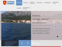 Slika naslovnice sjedišta: Općina Orebić - službeni web portal (http://www.orebic.hr)