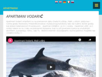 Frontpage screenshot for site: Apartmani Vodarić - Mali Lošinj (http://www.apartmani-vodaric.hr)