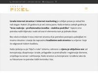 Slika naslovnice sjedišta: Izrada web stranica i Internet marketing - Studio Pixel - Rijeka (http://www.pixel.hr)