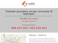 Slika naslovnice sjedišta: Arabba d.o.o. (http://www.arabba.hr)