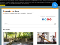 Slika naslovnice sjedišta: TopNet Topusko (http://www.topnet-topusko.hr)