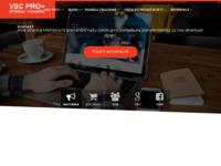 Slika naslovnice sjedišta: VSC Pro + Internet trgovina (http://www.vsc-pro.com)