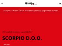 Slika naslovnice sjedišta: Scorpio d.o.o. - Rijeka - Ugostiteljska oprema (http://www.scorpio.hr)