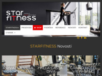 Frontpage screenshot for site: Starfitness (http://www.starfitness.hr)