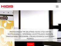 Slika naslovnice sjedišta: Higis d.o.o. trgovina (http://www.higis.hr)