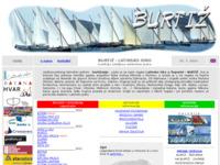 Frontpage screenshot for site: Burtiž latinsko idro (http://burtiz.otokprvic.info)