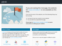 Frontpage screenshot for site: ICT media internet agencija / web hosting | izrada internet stranica | internet marketing (http://www.ictmedia.hr)