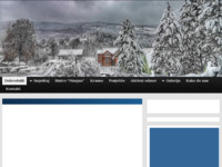 Frontpage screenshot for site: Apartmani Manjan Krasno (http://bistro-manjan.hr)