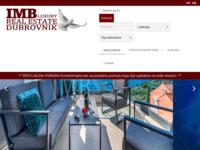 Frontpage screenshot for site: IMB Nekretnine - Real Estate Dubrovnik Croatia (http://www.imbnekretnine.hr)