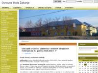 Slika naslovnice sjedišta: Osnovna škola Žakanje (http://os-zakanje.skole.hr/)