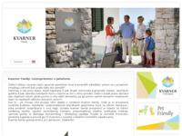 Slika naslovnice sjedišta: Web katalog obiteljskog smještaja na Kvarneru (http://obiteljski.kvarner.hr/)