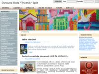 Slika naslovnice sjedišta: Osnovna škola (http://www.os-trstenik-st.skole.hr/)