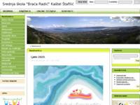 Slika naslovnice sjedišta: Srednja škola Braća Radić (http://www.ss-bracaradic-kastelstafilicnehaj.skole.hr)