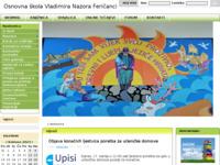 Slika naslovnice sjedišta: Osnovna škola Vladimira Nazora - Feričanci (http://www.os-vnazora-fericanci.skole.hr/)