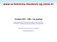 Slika naslovnice sjedišta: Tehnička škola Ruđera Boškovića Zagreb (http://www.ss-tehnicka-rboskovic-zg.skole.hr)
