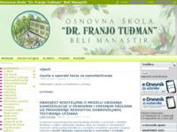 Slika naslovnice sjedišta: Osnovna škola Dr. Franjo Tuđman (http://os-drftudjman-beli-manastir.skole.hr/)