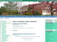 Slika naslovnice sjedišta: Šumarska i drvodjeljska škola Karlovac (http://www.ss-sumarskaidrvodjeljska-ka.skole.hr/)