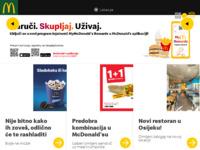 Slika naslovnice sjedišta: McDonald's Hrvatska (http://www.mcdonalds.hr/)