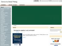 Slika naslovnice sjedišta: Osnovna škola Prelog (http://www.os-prelog.skole.hr)
