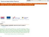 Slika naslovnice sjedišta: Osnovna škola Velika Pisanica (http://os-velika-pisanica.skole.hr/)