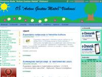 Slika naslovnice sjedišta: Osnovna škola Antun Gustav Matoš, Vinkovci (http://www.os-agmatos-vk.skole.hr/)