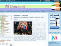 Slika naslovnice sjedišta: Osnovna škola Draganići (http://www.os-draganici.skole.hr)