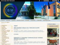 Slika naslovnice sjedišta: Gimnazija Beli Manastir (http://www.gimnazija-beli-manastir.skole.hr)