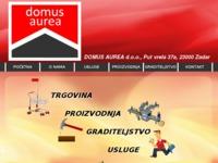 Slika naslovnice sjedišta: Domus Aurea d.o.o - graditeljstvo, usluge, turizam (http://www.domus-aurea.hr)