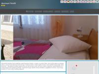Frontpage screenshot for site: Apartmani Patalić - Lopar (http://www.apartmani-patalic.hr)