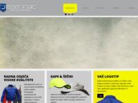 Frontpage screenshot for site: Radna odjeća i obuća Jezerinac - Zaštitna odjeća za rad (http://radna-odjeca.com/)