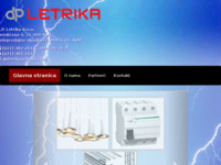 Frontpage screenshot for site: Dpletrika (http://dpletrika.hr)