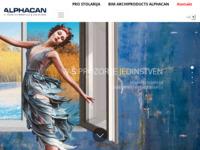 Slika naslovnice sjedišta: ALPHACAN - Profil s potpisom (http://www.alphacan.hr)