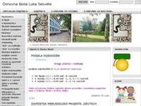 Slika naslovnice sjedišta: Osnovna škola Luka, Sesvete (http://os-luka-sesvete.skole.hr)
