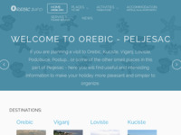 Slika naslovnice sjedišta: Turističke informacije o Orebiću (http://www.orebic.info)