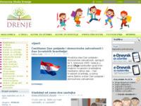Slika naslovnice sjedišta: Osnovna škola Drenje (http://os-drenje.skole.hr)