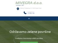 Frontpage screenshot for site: Mivegra d.o.o. (http://www.mivegra.hr)