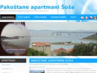 Slika naslovnice sjedišta: Pakoštane apartmani Šoša (http://apartmanisosa.com)