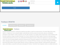Frontpage screenshot for site: Trevi Tours (http://www.trevitours.com)