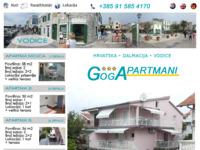 Slika naslovnice sjedišta: Goga Apartmani Vodice (http://www.goga-apartmani.com)