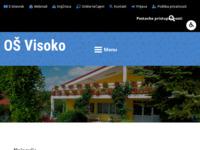 Slika naslovnice sjedišta: Osnovna škola Visoko (http://www.os-visoko.skole.hr/)