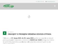Slika naslovnice sjedišta: Azelija-eko d.o.o. (http://azelija-eko.hr)
