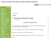 Slika naslovnice sjedišta: Osnovna škola Tomaša Goričanca Mala Subotica (http://os-mala-subotica.skole.hr/)