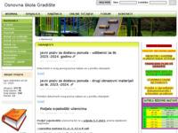 Slika naslovnice sjedišta: Osnovna škola Gradište (http://www.os-gradiste.skole.hr)