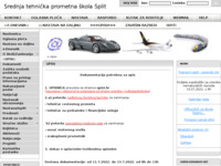 Slika naslovnice sjedišta: Srednja tehnička prometna škola Split (http://ss-tehnicka-prometna-st.skole.hr/)