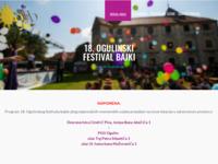 Slika naslovnice sjedišta: Udruga Ogulinski festival bajke (http://ogfb.hr)